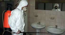 Станция дезинфекции и дератизации РБ